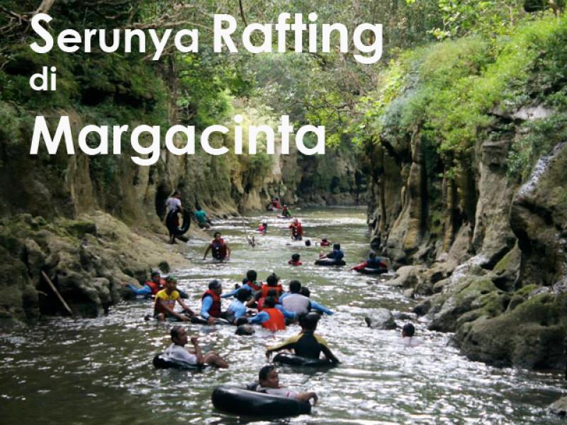 Serunya Rafting di Pangancraan Margacinta