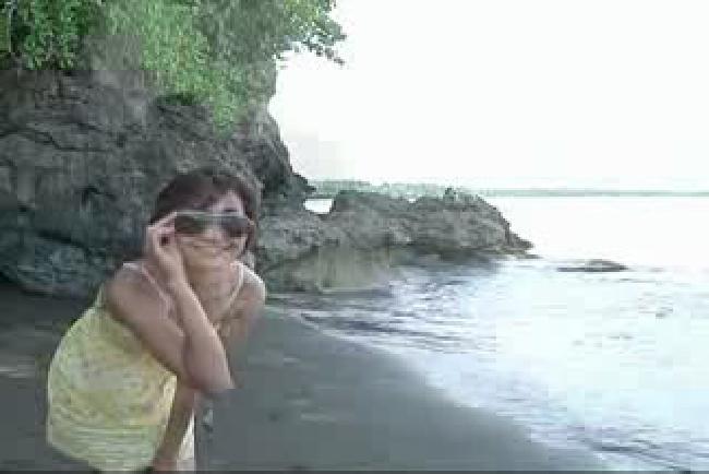 Holiday (3) - Mampir ke Pantai Batukaras Cijulang