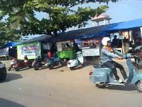 Pangandaran Lautan Scooter