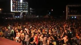 Live Performance Boys N Root Saat Pergantian Tahun 2013 di Pangandaran