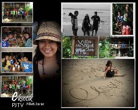 Seharian di Batu Karas dan Villa Monyet Bersama Eksotik PJTV