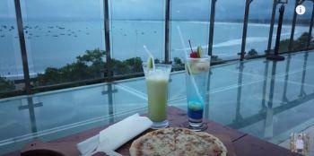 Ada Cafe sekeren ini di Pangandaran ?! | Kampung turis Pangandaran, Brillo Pizza, Horison Rooftop.