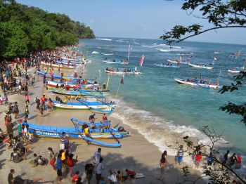 Amazing Video of Pangandaran Beach, west Java Indonesia
