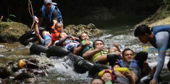 Body Rafting Santirah (Air Kahuripan) | myPangandaran Tour and Travel