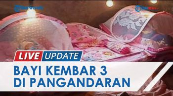 Cerita Ibu di Pangandaran Heran Lahirkan 3 Bayi Kembar, Sebut di USG Hanya Terlihat 1 Janin Saja