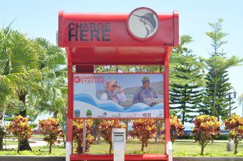 CHARGER STATION umum (cash HP) Pangandaran DIRESMIKAN