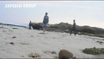 Expedisi Group- Indahnya Pantai karapyak Pangandaran