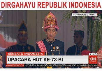 Full - Pengibaran Bendera Sang Saka Merah Putih di Istana Negara