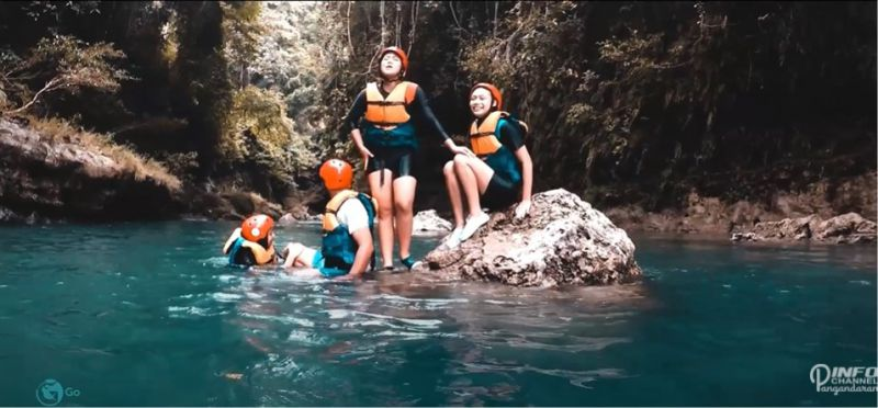 Green Canyon Pangandaran FULL BODY RAFTING