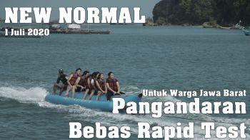 Info Pangandaran 2020   Mulai 1 Juli Warga Jawa Barat Boleh Masuk Pangandaran Tanpa Rapid Test