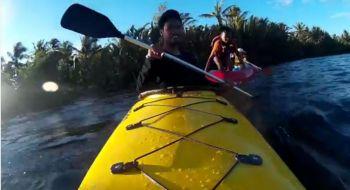 Kayaking Bulak Setra pangandaran