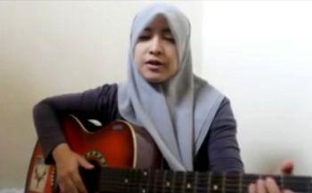 Keren, Cover Lagu Sisi Laut Pangandaran Ala Hijabar