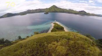 Keren, Drone Keliling Setengah Indonesia, Peringati 70 Tahun Indonesia,