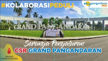 Kolaborasi Grand Pangandaran dan Mypangandaran Dalam Masa Pandemi Covid-19.