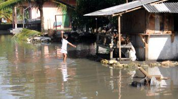 Lagi, Banjir Melanda di wilayah Pangandaran