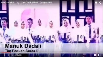 Manuk Dadali - Lagu Sunda Oleh SMAN 1 Pangandaran