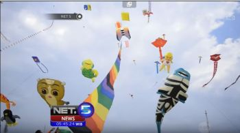 Pangandaran International Kite Festival 2016