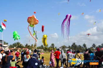 PANGANDARAN KITE INTERNATIONAL FESTIVAL 2018 (Highlight)
