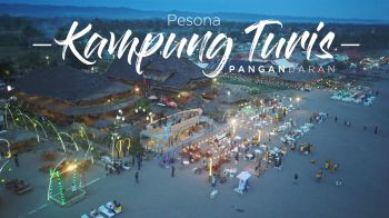 Pesona Kampung Turis Pangandaran