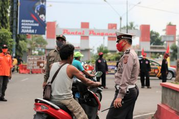 Sanksi Tak Pakai Masker Mulai Diterapkan di Pangandaran