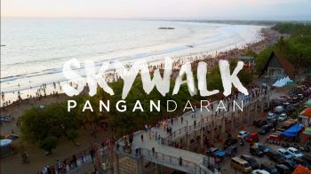 SKYWALK Pantai Barat Pangandaran