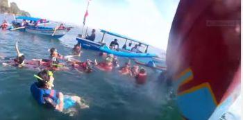 Snorkling di Taman Laut Pangandaran