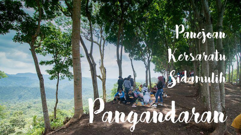 Yang Viral Bukit Panenjoan di Pangandaran